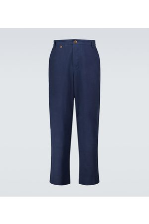 King and Tuckfield Loose-fit chino pants