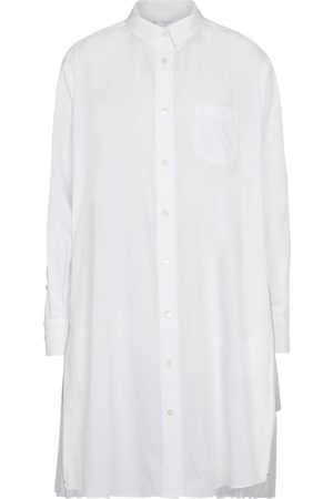 SACAI Embellished shirt dress