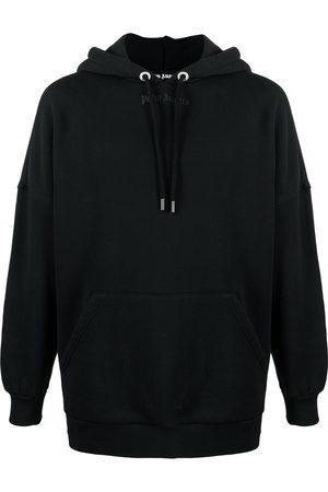 Palm Angels Logo print oversized hoodie