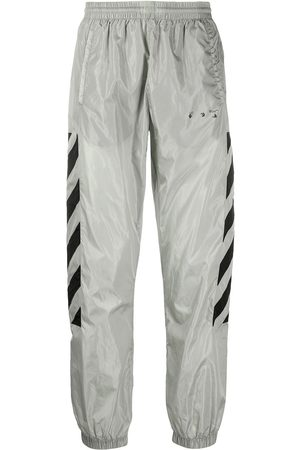 OFF-WHITE Logo-print track pants - Grey