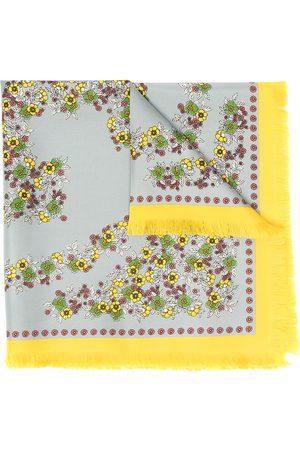 Tory Burch Women Scarves - Floral-print silk scarf