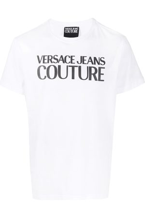 VERSACE Logo crew-neck T-shirt