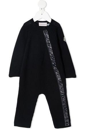 Moncler Jumpsuits - Button-up cotton jumpsuit