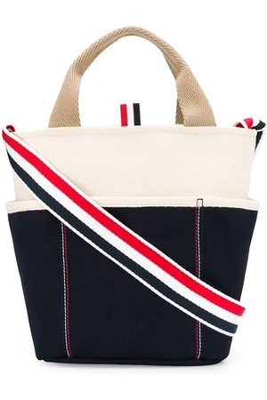 Thom Browne Men Bags - Large double-face canvas bucket bag
