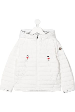 Moncler Boys Puffer Jackets - Padded zip-up down jacket