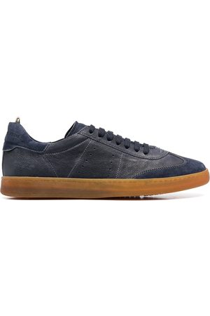 Officine creative Men Sneakers - Perforated detail lace-up sneakers