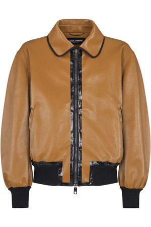 Dolce & Gabbana Zip-front bomber jacket