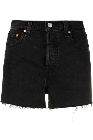 Levi's Women Shorts - High-rise raw-cut shorts