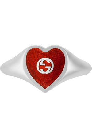 Gucci Interlocking G heart ring