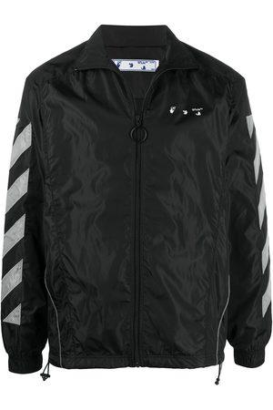 OFF-WHITE Diag zipped sports jacket