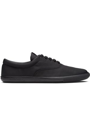 Prada Nylon lace-up sneakers