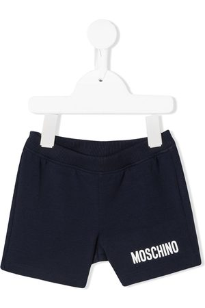Moschino Logo print track shorts