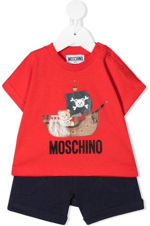 Moschino Pirate Teddy Bear short set