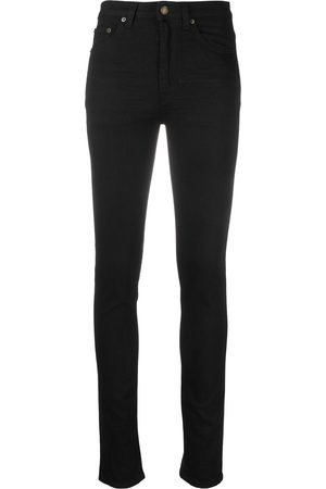 Saint Laurent Women High Waisted - High-rise skinny jeans