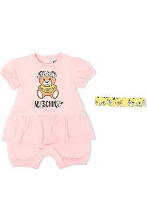 Moschino Logo-print trouser set
