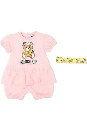 Moschino Logo-print trouser set