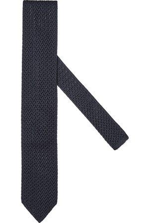 Ermenegildo Zegna Men Bow Ties - Woven silk tie