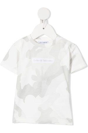 Dolce & Gabbana T-shirts - Camouflage-print T-shirt