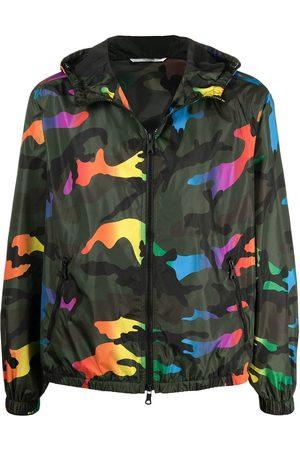VALENTINO Men Jackets - Camouflage-print jacket