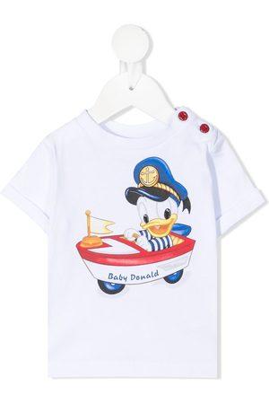 MONNALISA Graphic print short-sleeved T-shirt