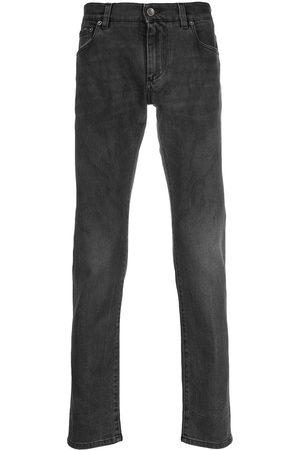Dolce & Gabbana Faded slim-fit jeans - Grey