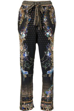 Camilla Palace Playhouse drop crotch trousers - Multicolour