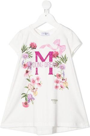MONNALISA Floral-print T-Shirt dress
