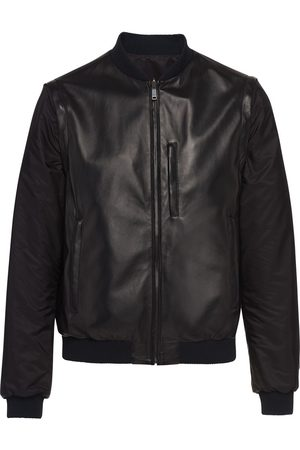 Prada Men Leather Jackets - Nappa leather bomber jacket