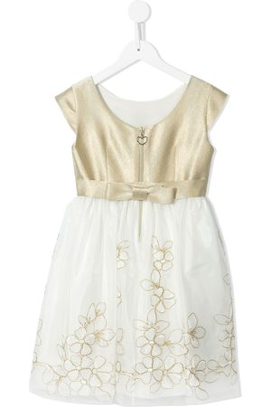 Lesy Floral-embroidered short-sleeve dress
