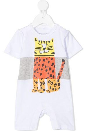 Stella McCartney Baby Rompers - Leopard-print shorties