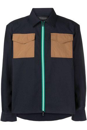 Viktor & Rolf Zipped cotton shirt