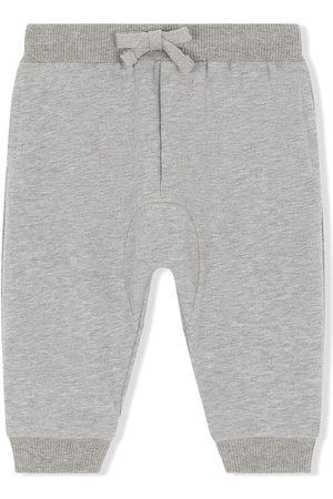 Dolce & Gabbana Baby Sweatpants - Logo-patch track pants - Grey