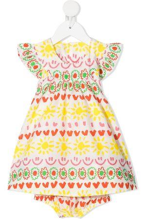 Stella McCartney Printed round-neck dress