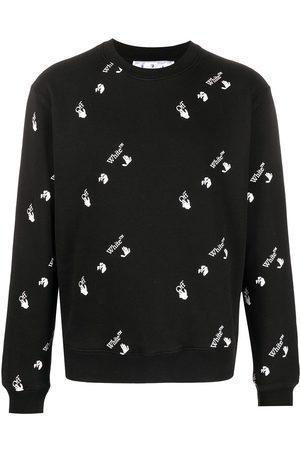 OFF-WHITE All-over logo sweatshirt