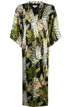 TEMPERLEY LONDON Elpis Harmony-print silk kimono