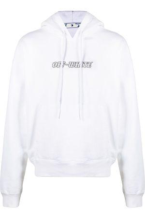 OFF-WHITE Pascal logo-print hoodie