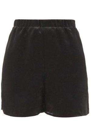 Ludovic De Saint Sernin Silk-satin Shorts - Womens