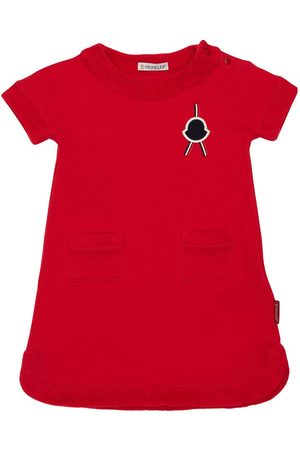 Moncler Cotton Jersey Dress