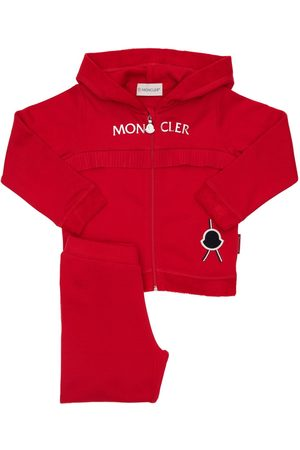 Moncler Cotton Sweatshirt Hoodie & Sweatpants