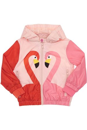 Stella McCartney Flamingo Print Recycled Polyester Jacket