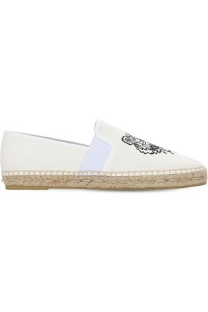 Kenzo 10mm Cotton Canvas Espadrilles