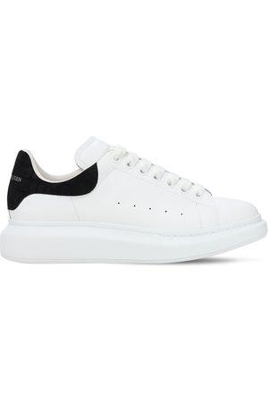 Alexander McQueen Men Platform Sneakers - 45mm Platform Leather Sneakers