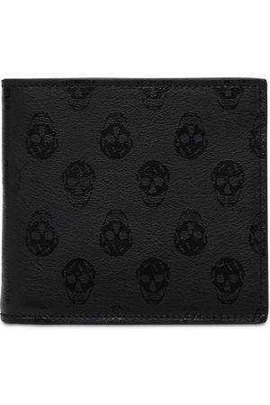 Alexander McQueen Skull Print Leather Wallet