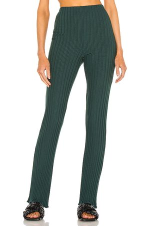 Lovers + Friends Ribbed Flare Pant in .