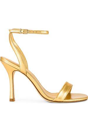 Larroude The Nyx Heel in Metallic .