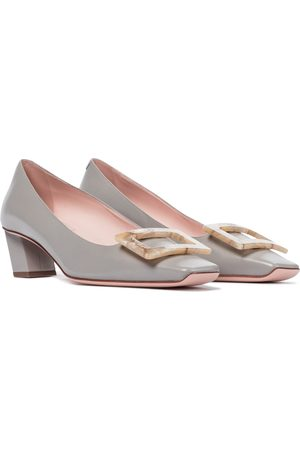 Roger Vivier Belle Vivier leather pumps