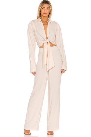 L'Academie The Liana Jumpsuit in .