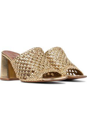 Souliers Martinez Exclusive to Mytheresa – Elda 75 leather sandals