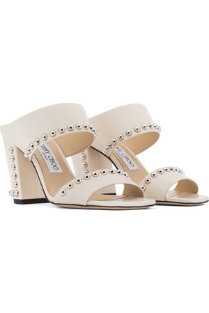 Jimmy Choo Matty 85 leather sandals