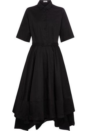 CO Tton-poplin shirt midi dress